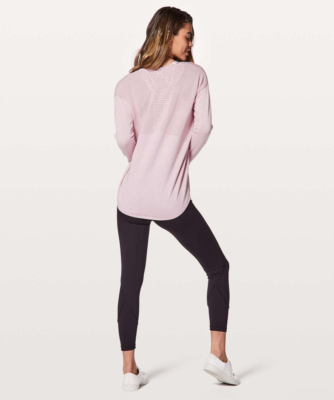 Lululemon Still Movement Sweater - Heathered Petals