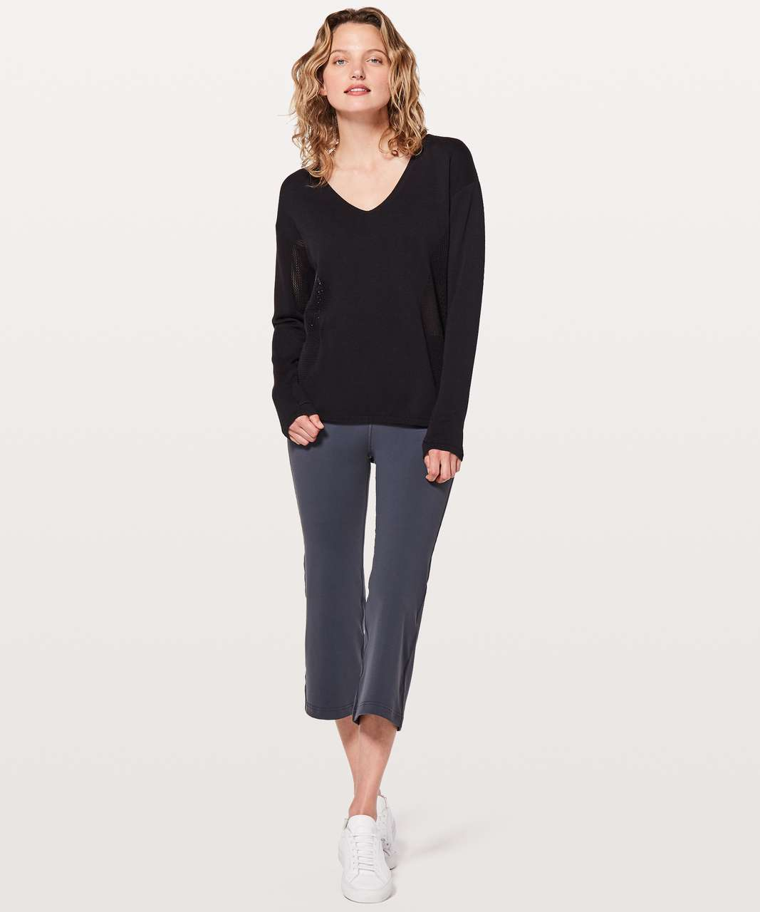 Lululemon Still Movement Sweater - Black