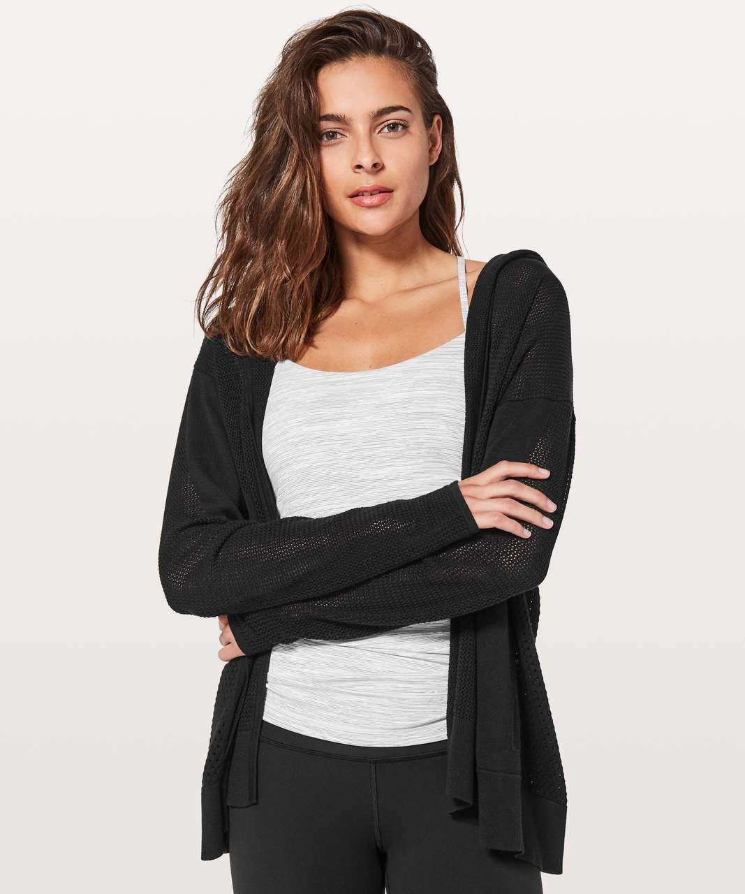 Lululemon Still Movement Wrap - Black