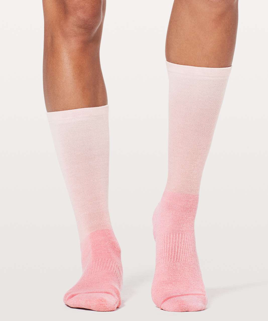 Lululemon Hit The Street Crew Sock - Petals / Fuchsia Pink