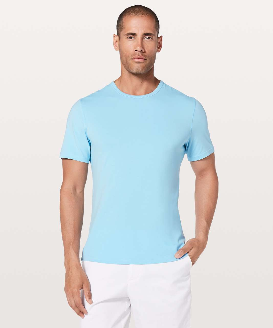 Lululemon 5 Year Basic Tee *Updated Fit - Light Water