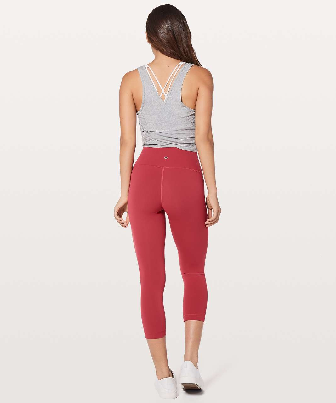 "Lululemon Wunder Under Crop (Hi-Rise) 21"" - Vintage Rose"