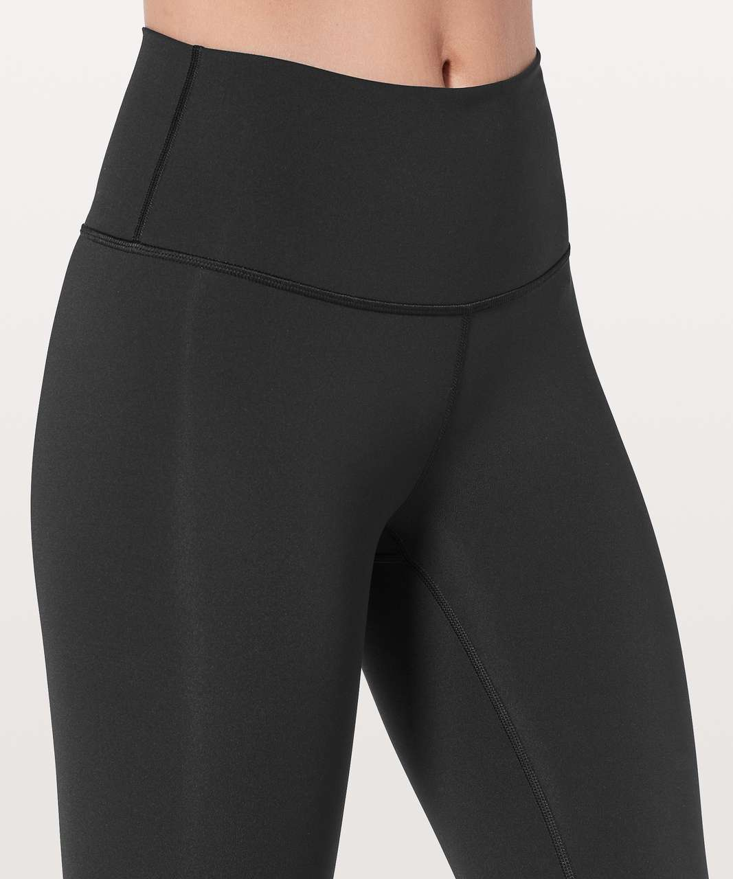 "Lululemon Wunder Under Hi-Rise 1/2 Tight 17"" - Black"