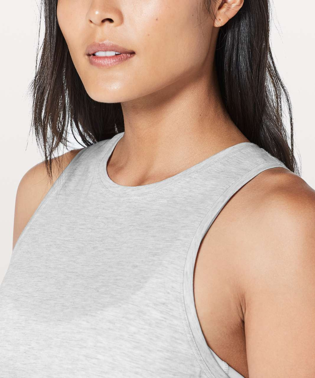 Lululemon All Tied Up Tank - Heathered Core Ultra Light Grey