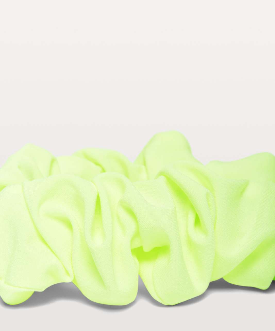 Lululemon Uplifting Scrunchie - Fluro Citrus