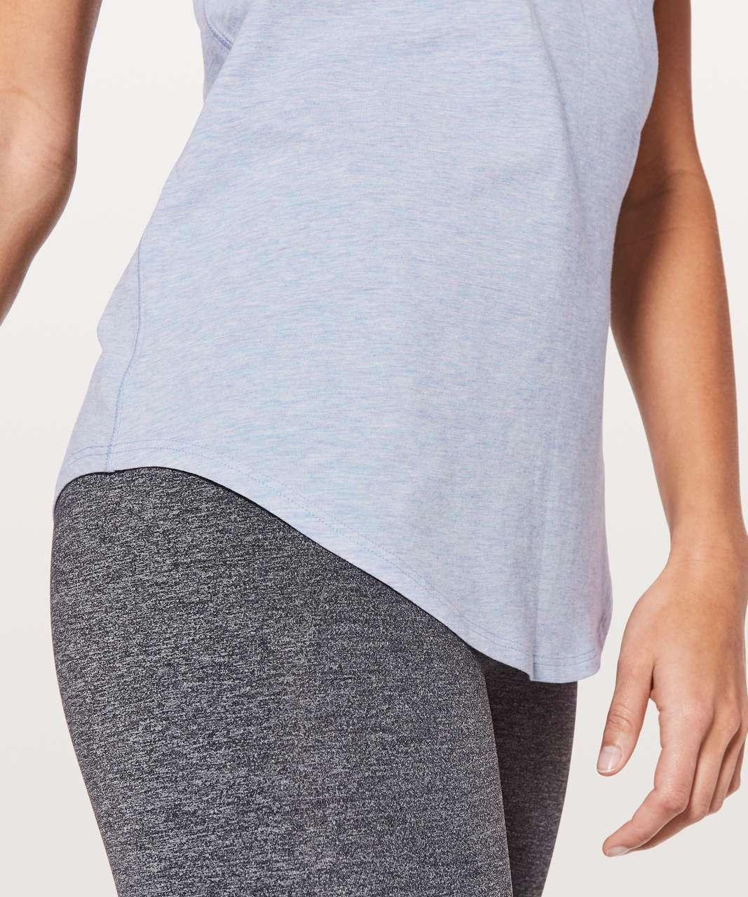 Lululemon Love Tank II - Heathered Berry Mist