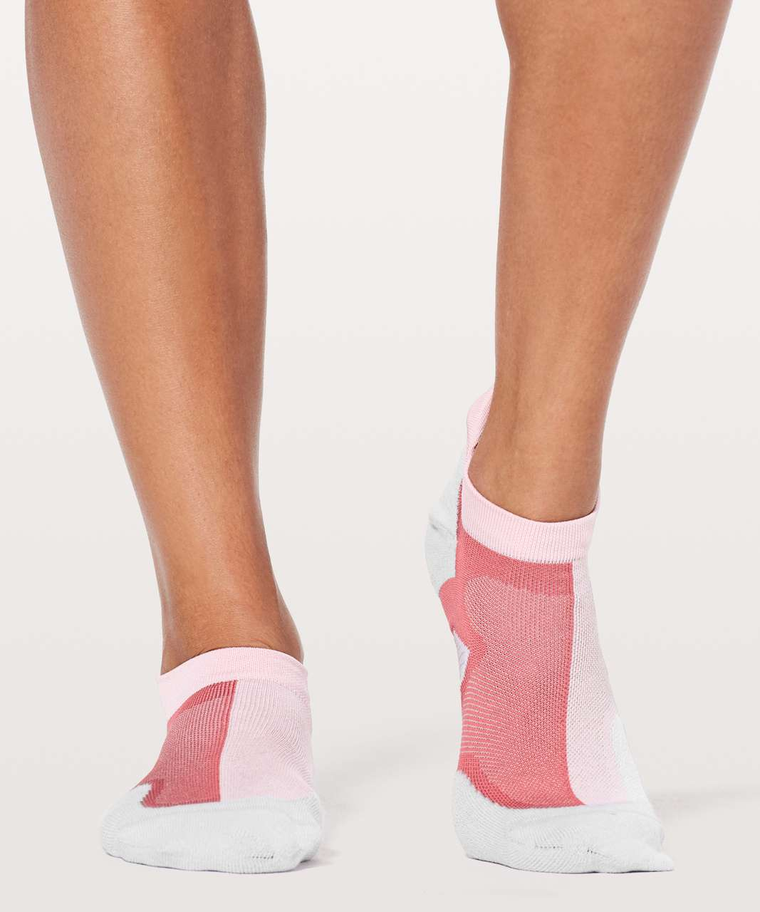 Lululemon Speed Sock *Silver - Petals / Cherry Dust / Silver Fox