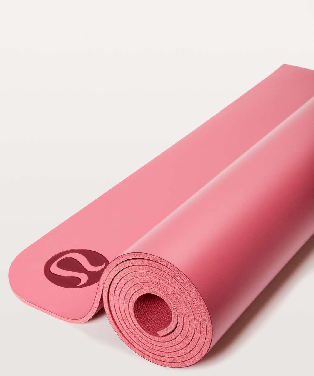 Lululemon The Reversible Mat 5mm - Cherry Dust / Glossy
