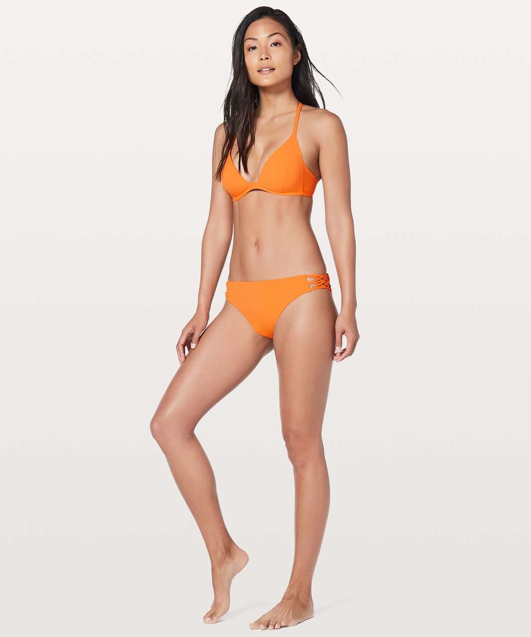 Lululemon Coastline Bottom - Vivid Amber