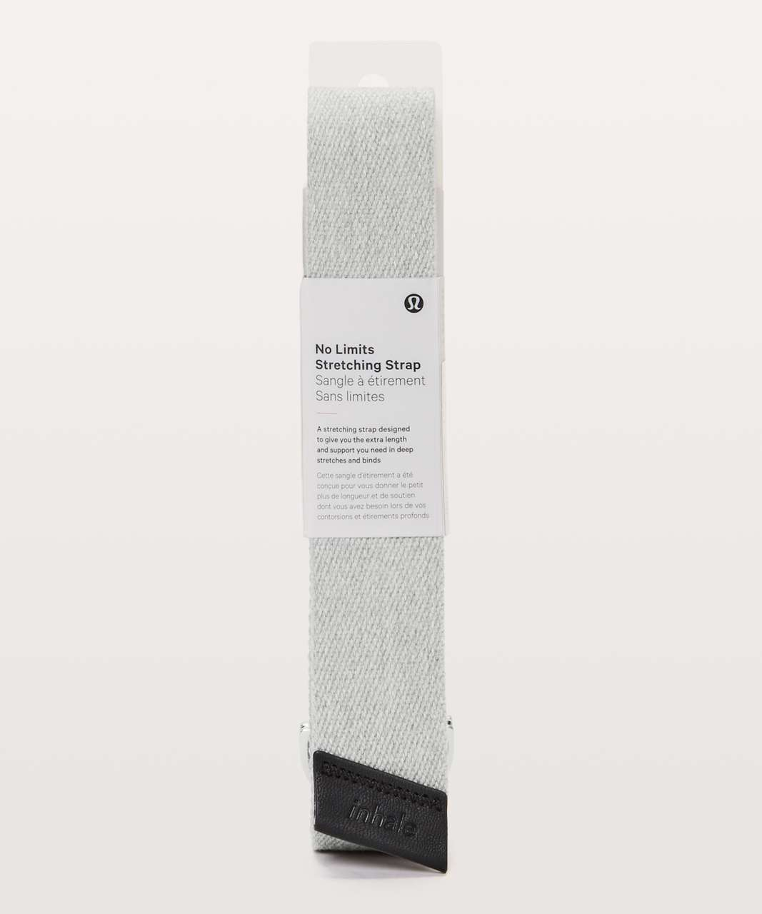 Lululemon No Limits Stretching Strap - Heathered Core Light Grey
