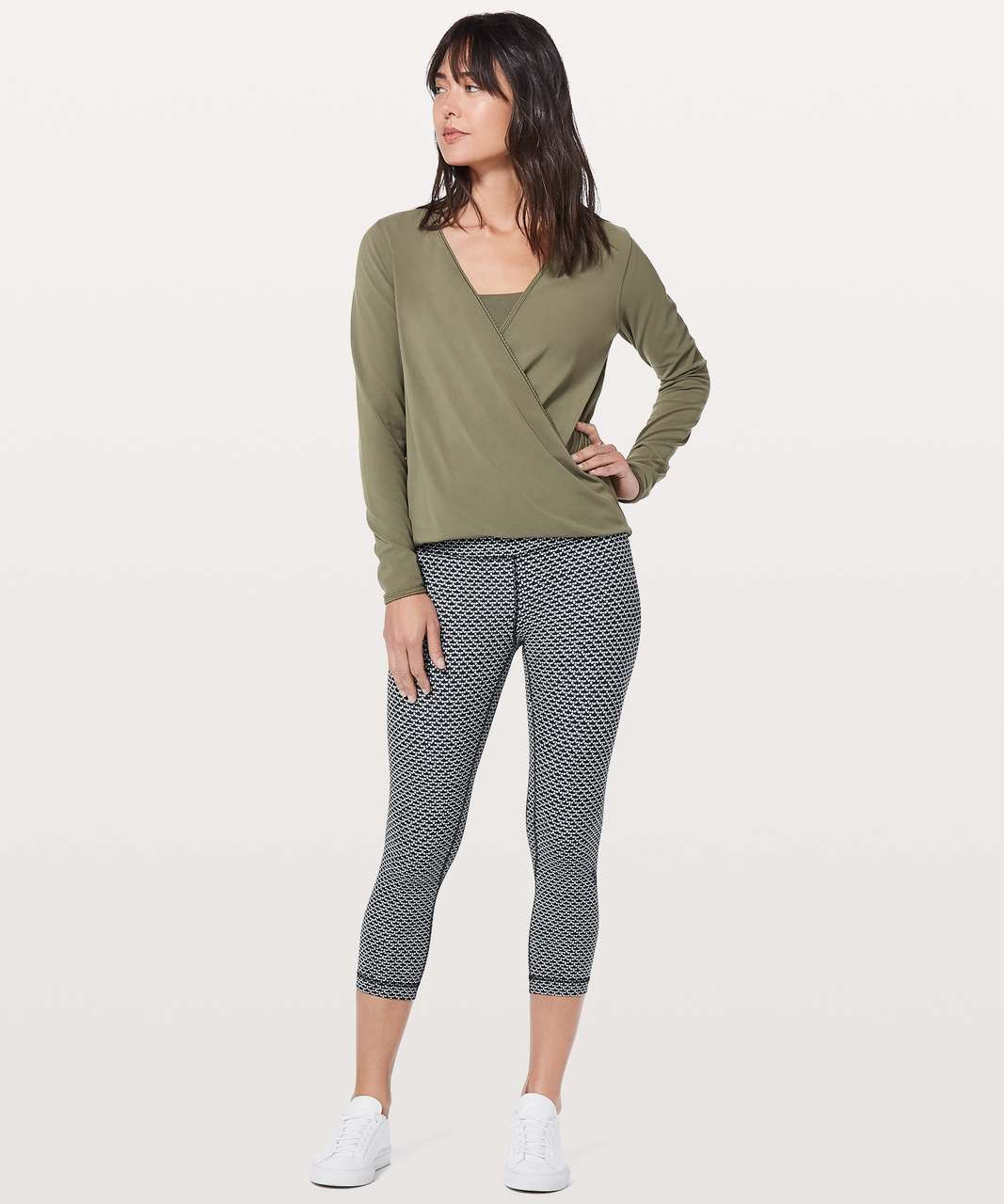 Lululemon Full Freedom Long Sleeve - Sage