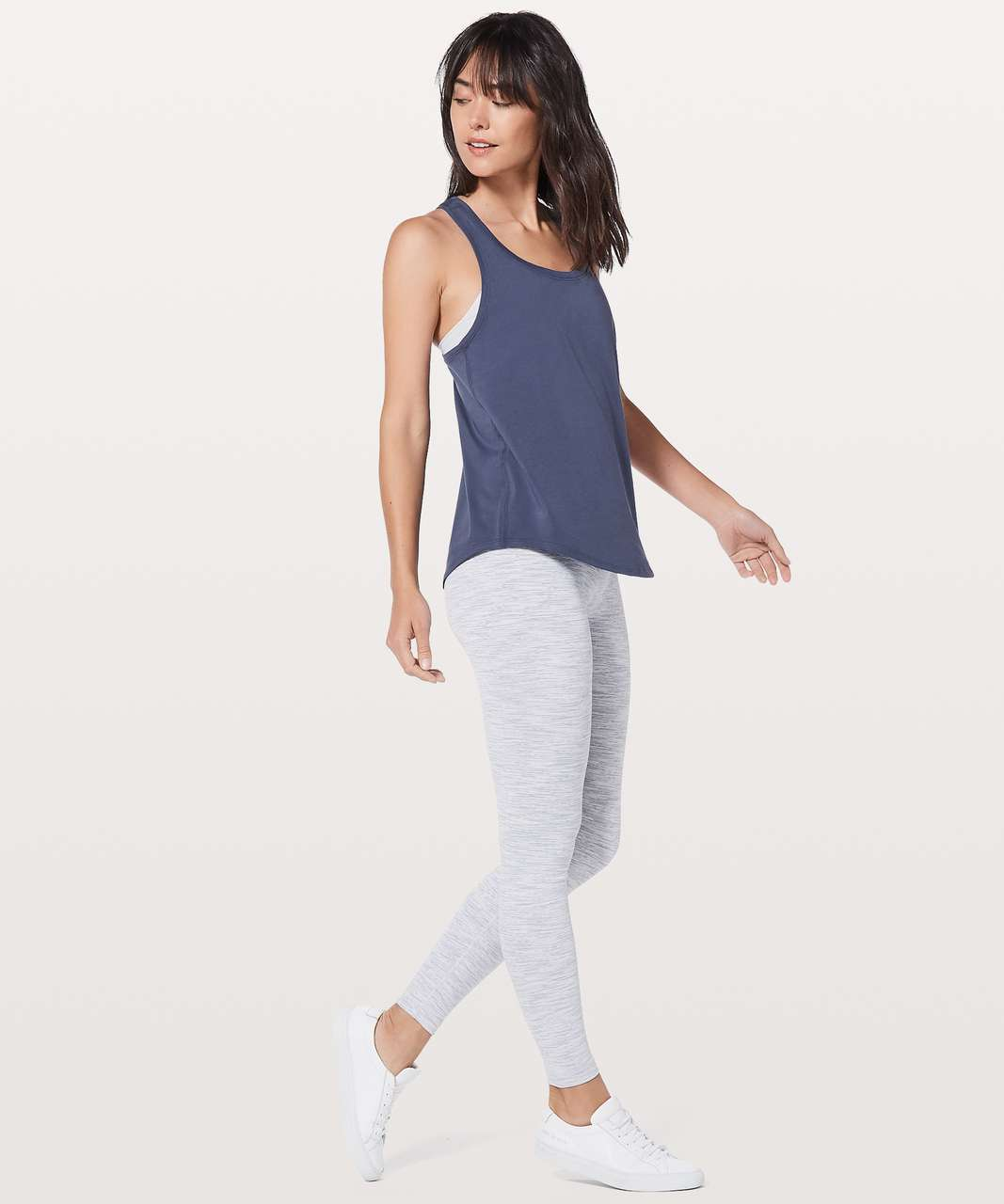 Lululemon Love Tank *Pleated - Moody Blues