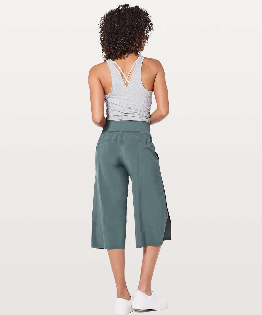 Lululemon Serene Crop - Sea Steel