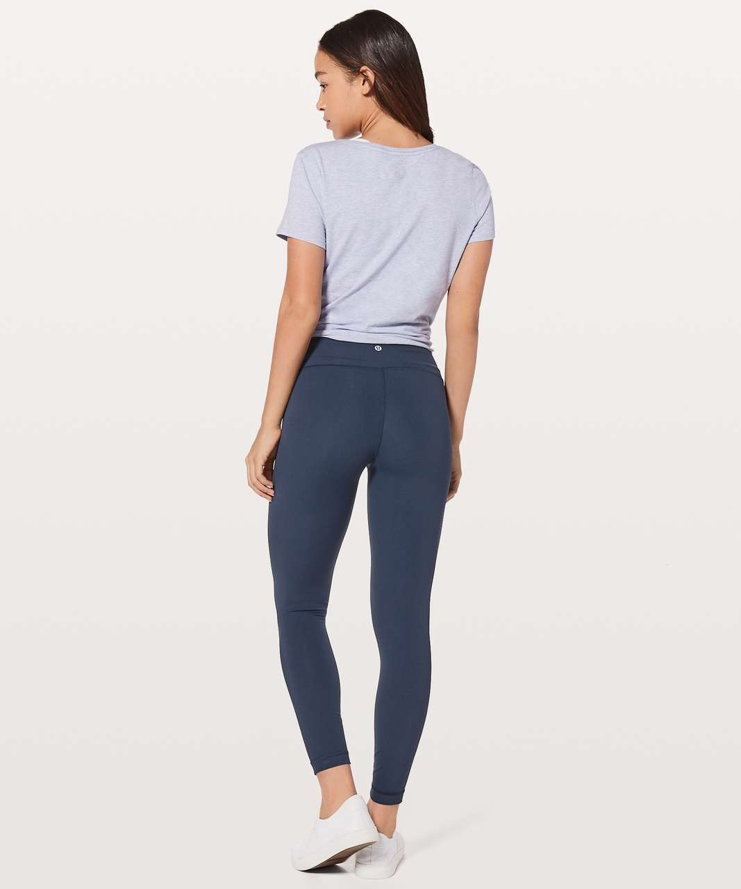 "Lululemon Wunder Under Hi-Rise 7/8 Tight 25"" - True Navy"