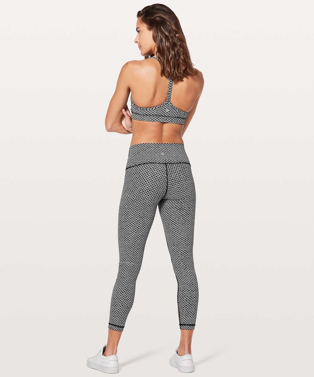 "Lululemon Wunder Under Hi-Rise 7/8 Tight *Full-On Luxtreme 25"" - Monochromic Black"