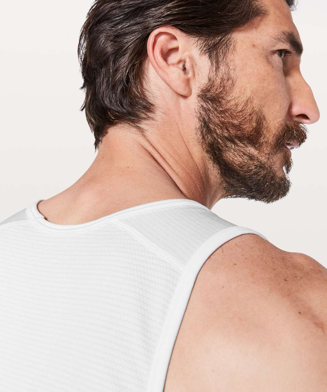 Lululemon Metal Vent Tech Tank - White / White