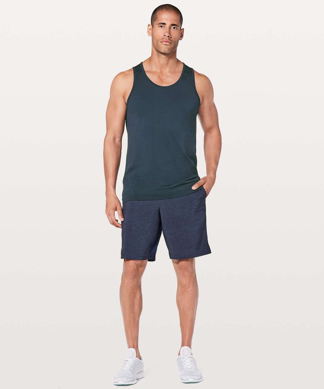 Lululemon Metal Vent Tech Tank - Nautical Navy / Nautical Navy