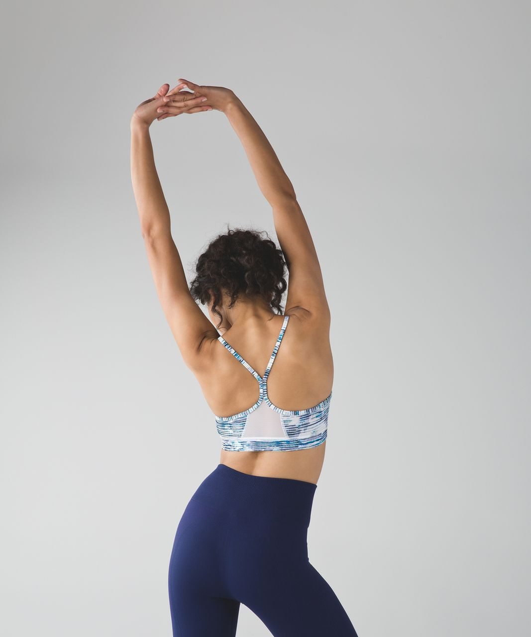 Lululemon Flow Y Bra IV - Blurry Belle Multi