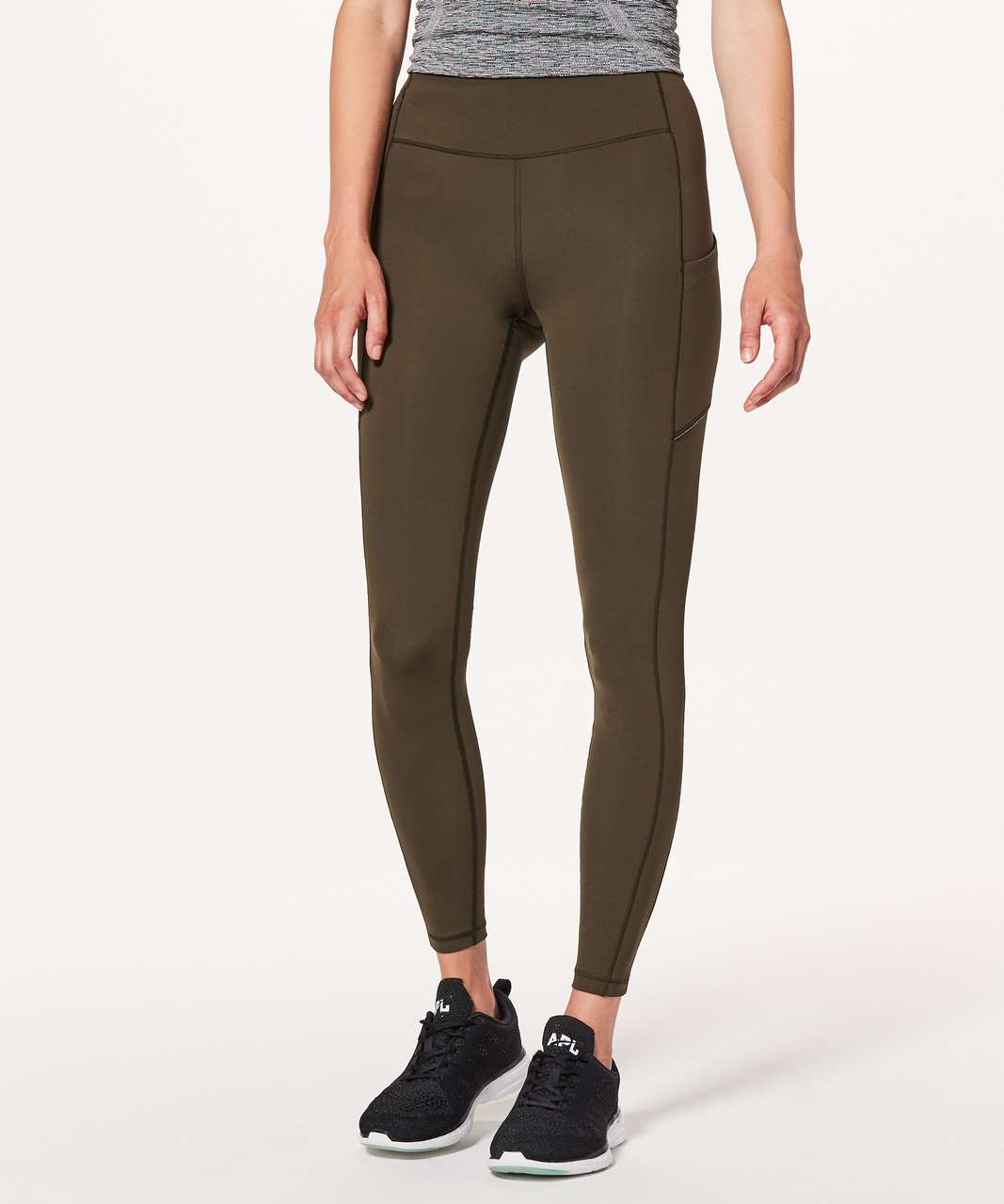 "Lululemon Speed Up Tight *Full-On Luxtreme 28"" - Dark Olive"