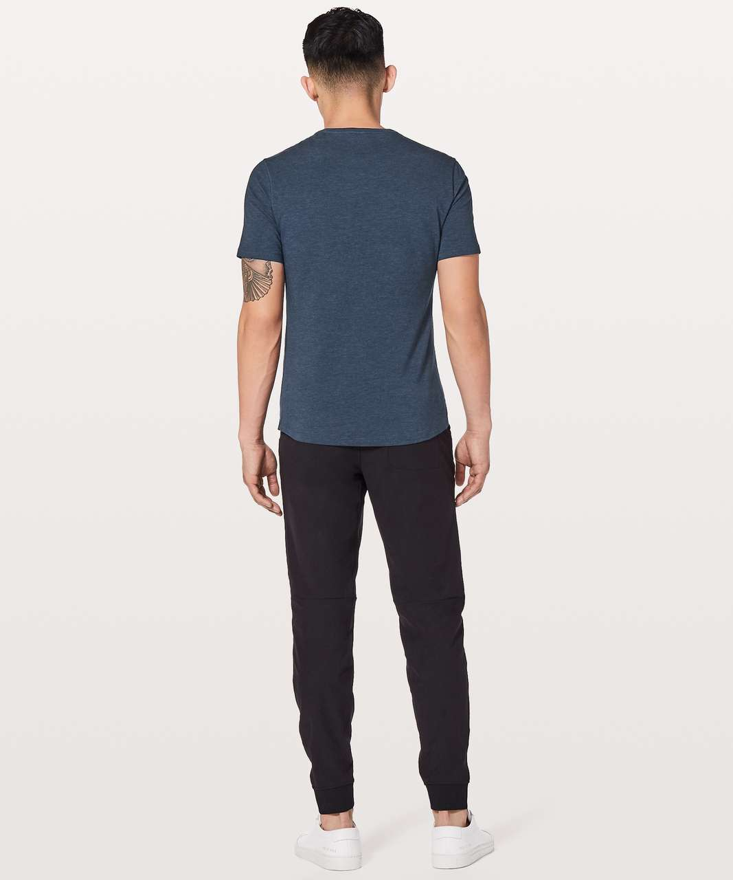 Lululemon 5 Year Basic V *Updated Fit - Heathered Nautical Navy