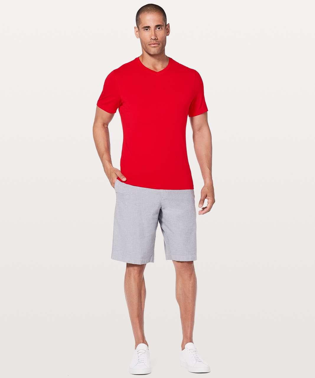 Lululemon 5 Year Basic V *Updated Fit - Bold Red