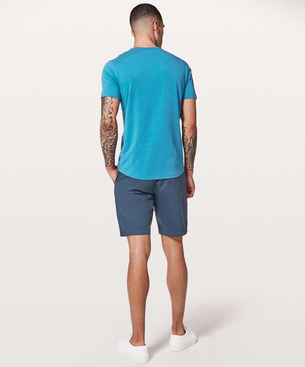Lululemon 5 Year Basic V *Updated Fit - Pewter Blue