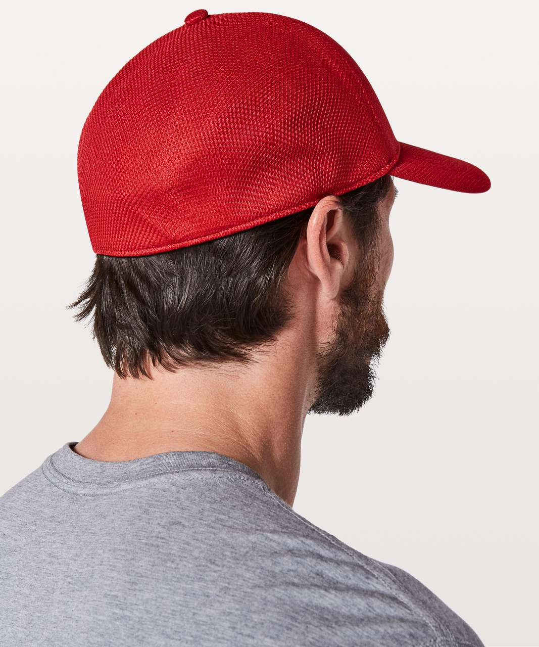 Lululemon The Single Panel Hat *Cool - Bold Red