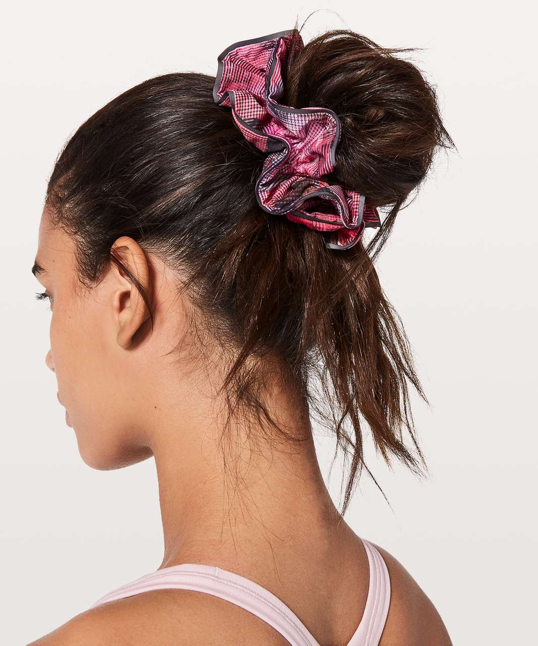 Lululemon Light Locks Scrunchie - Sun Dazed Multi Pink