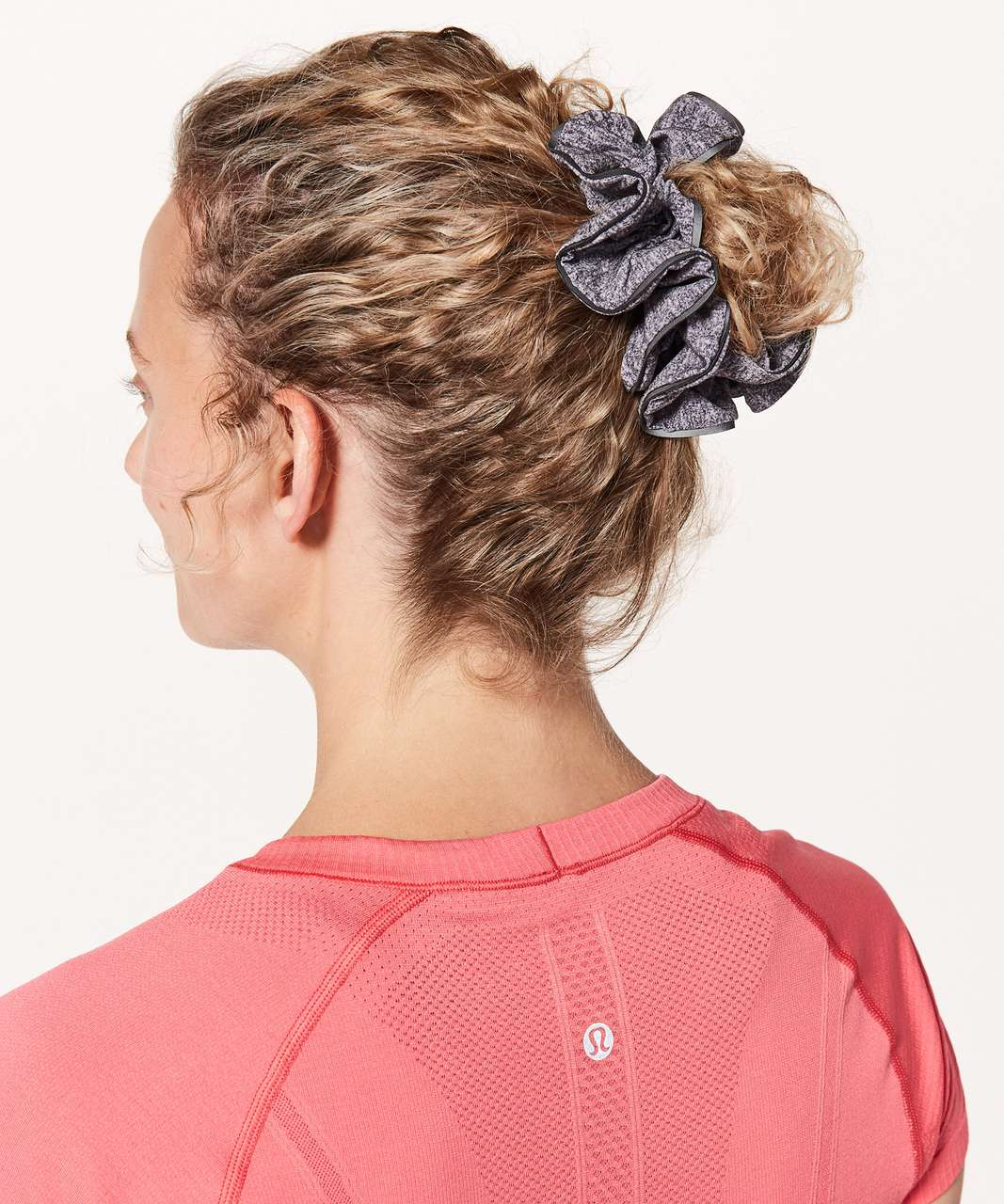 Lululemon Light Locks Scrunchie - Heather Lux Multi Black