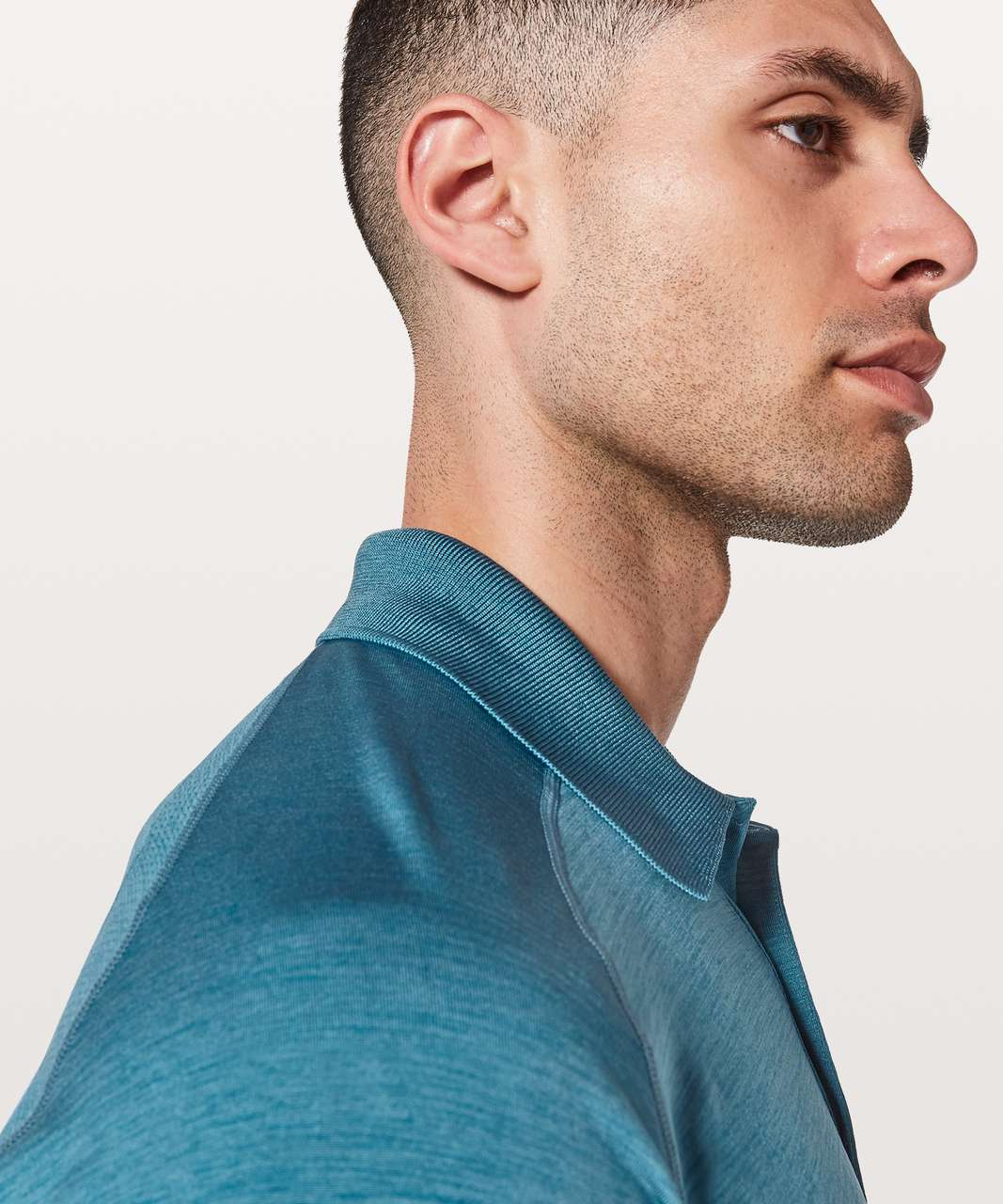 Lululemon Metal Vent Tech Polo - Poseidon / Hawk Blue