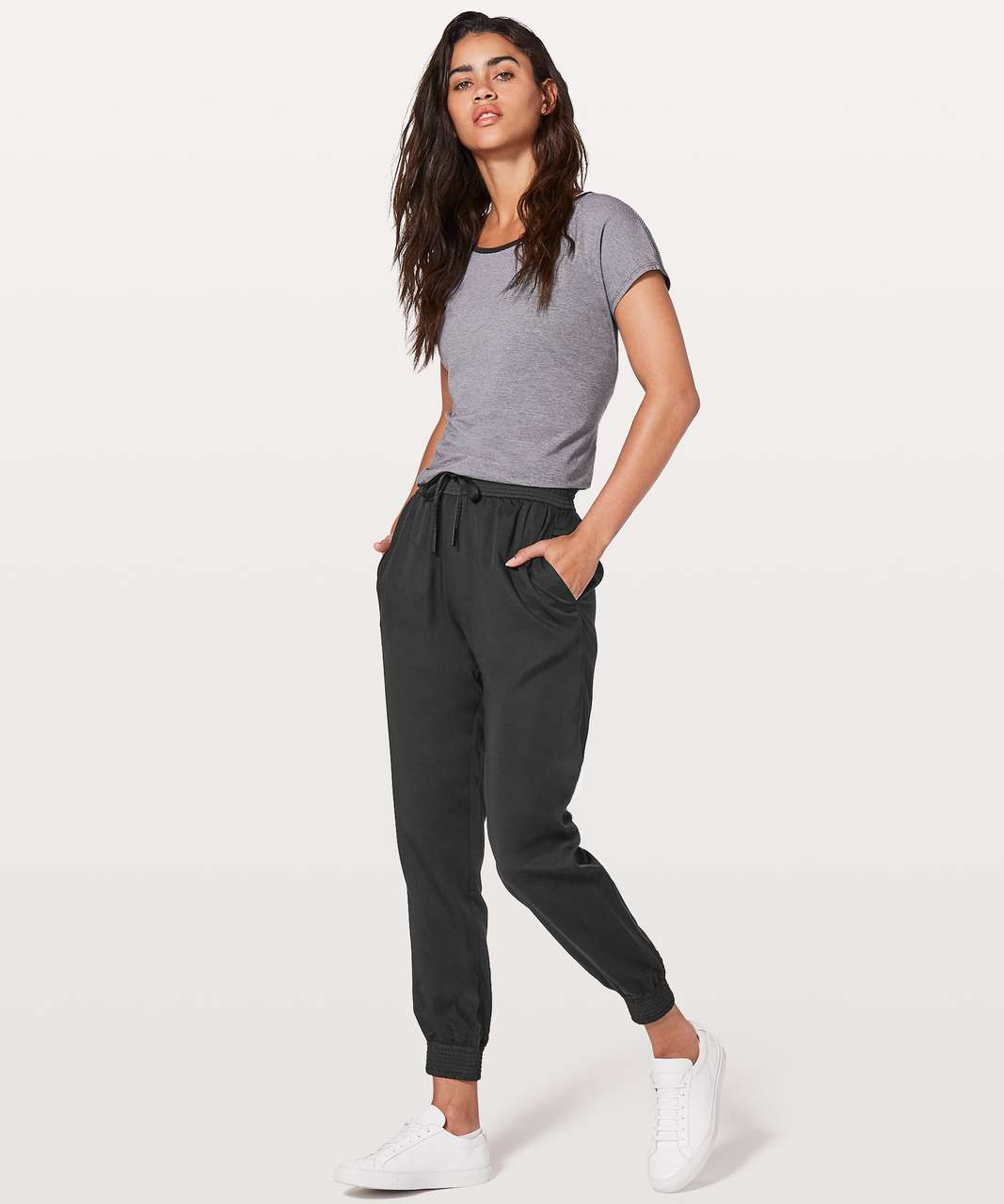 "Lululemon Ease Of Mind Pant *27"" - Black"