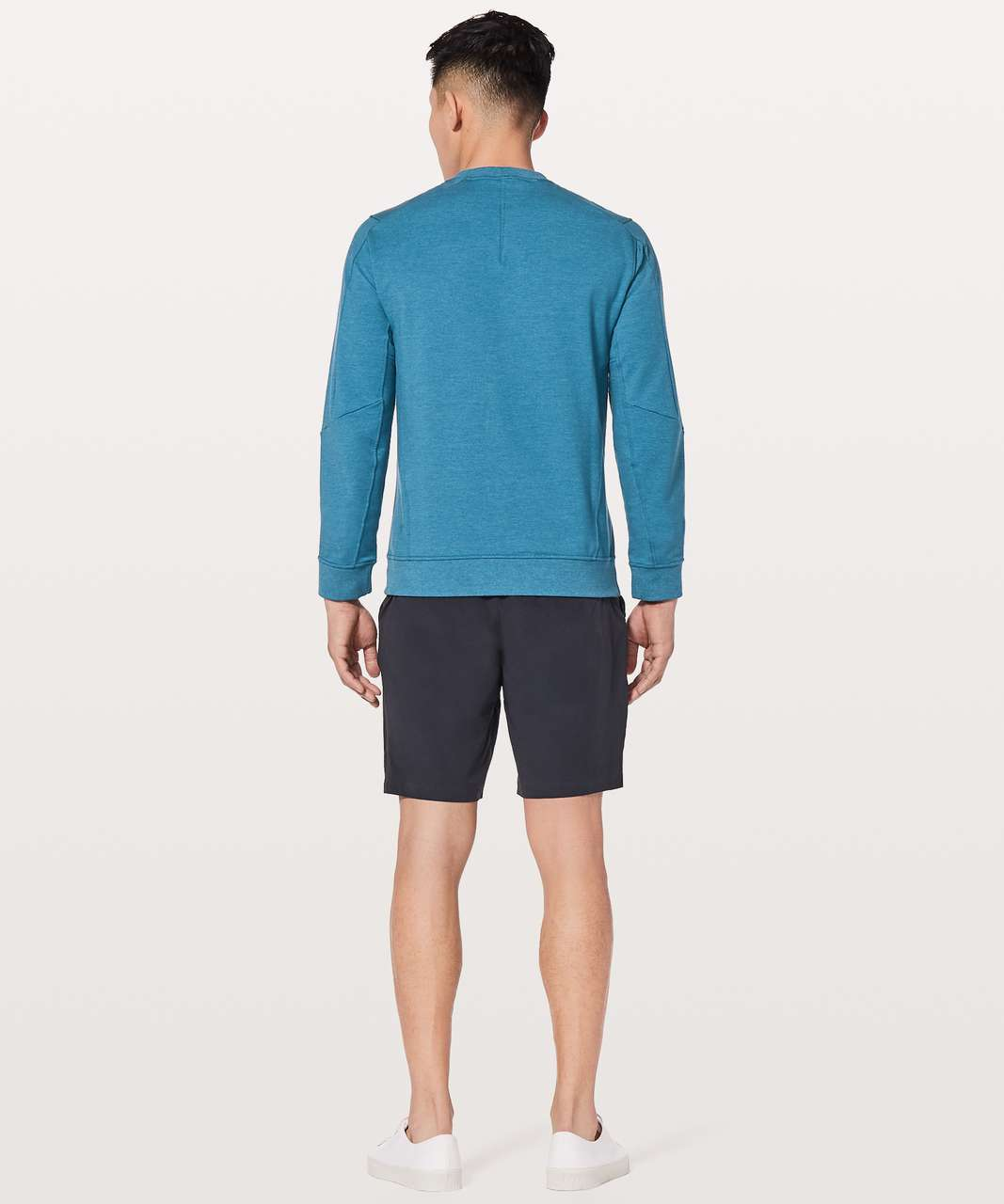 Lululemon City Sweat Crew - Heathered Pewter Blue
