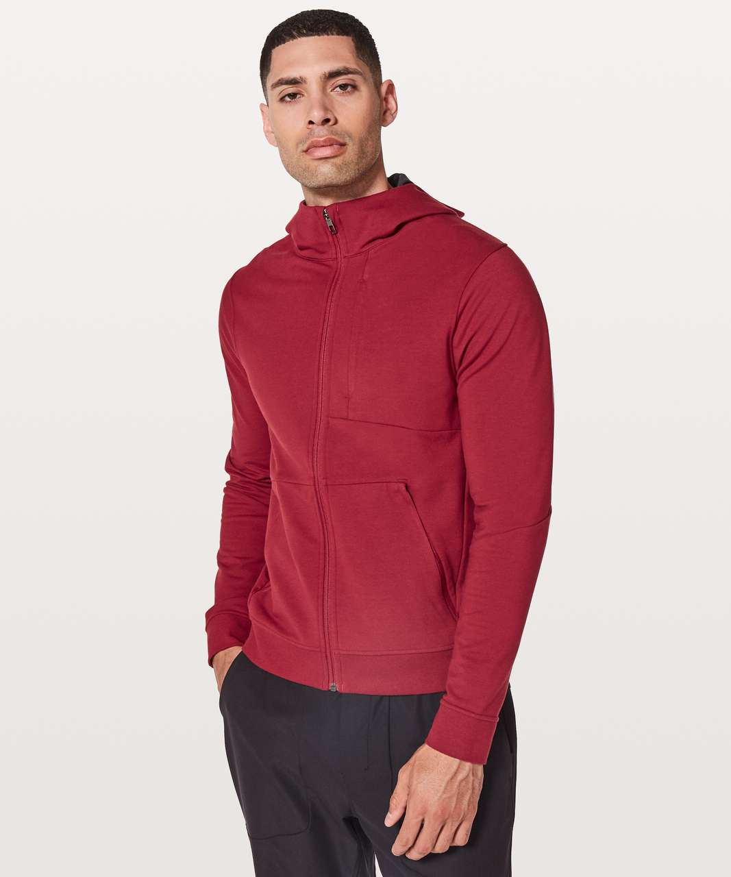 Lululemon City Sweat Zip Hoodie - Oxblood