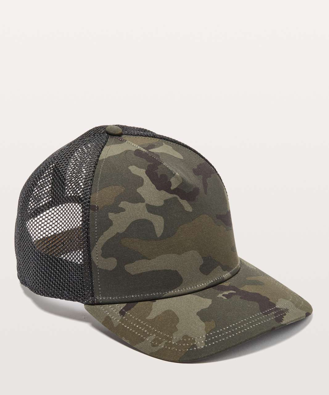 Lululemon Commission Hat - Woodland Camo Gator Green Dark Olive / Black