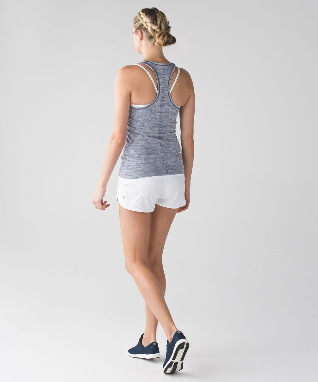 Lululemon Swiftly Tech Racerback - Heathered Hero Blue