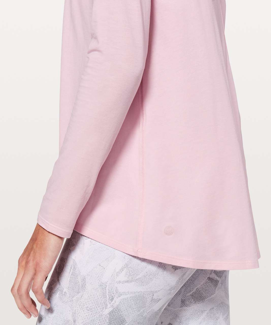 Lululemon Back Into It Long Sleeve - Petals