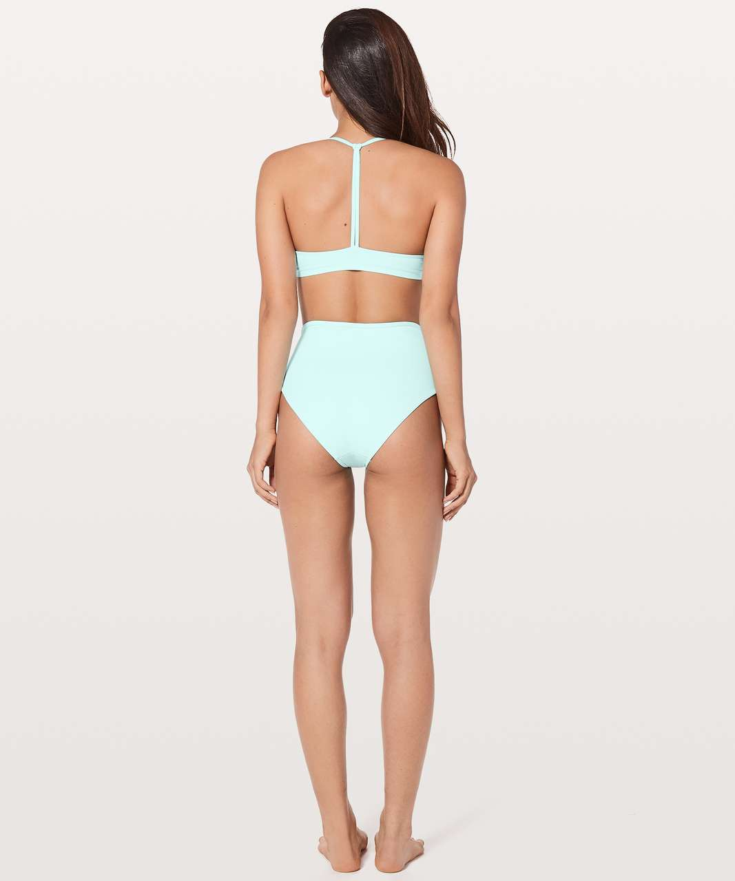 Lululemon Deep Sea High Waist Bottom - Aquamarine