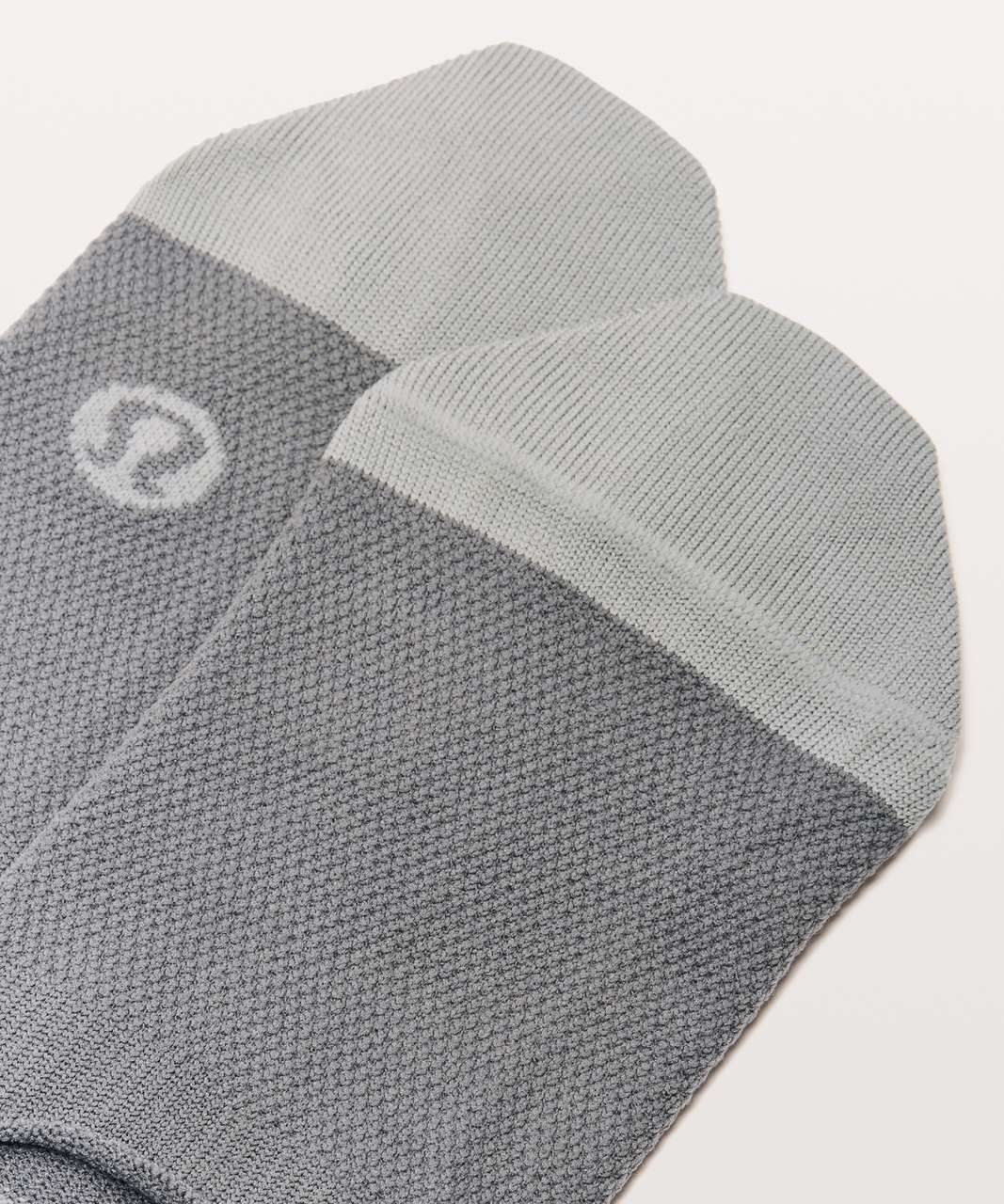 Lululemon No Sock Sock - Asphalt Grey / Light Cast