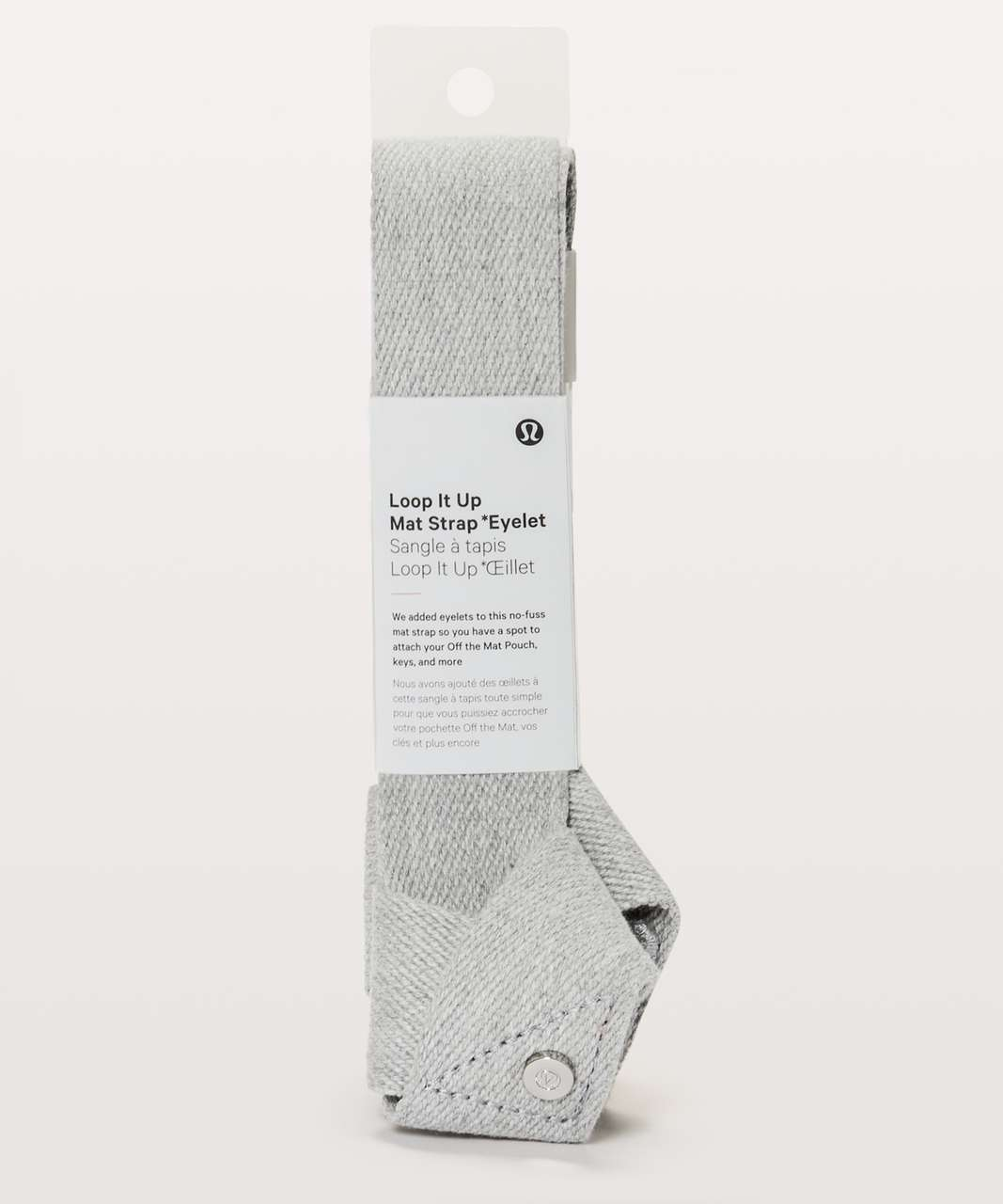 Lululemon Loop It Up Mat Strap *Eyelet - Heathered Core Light Grey