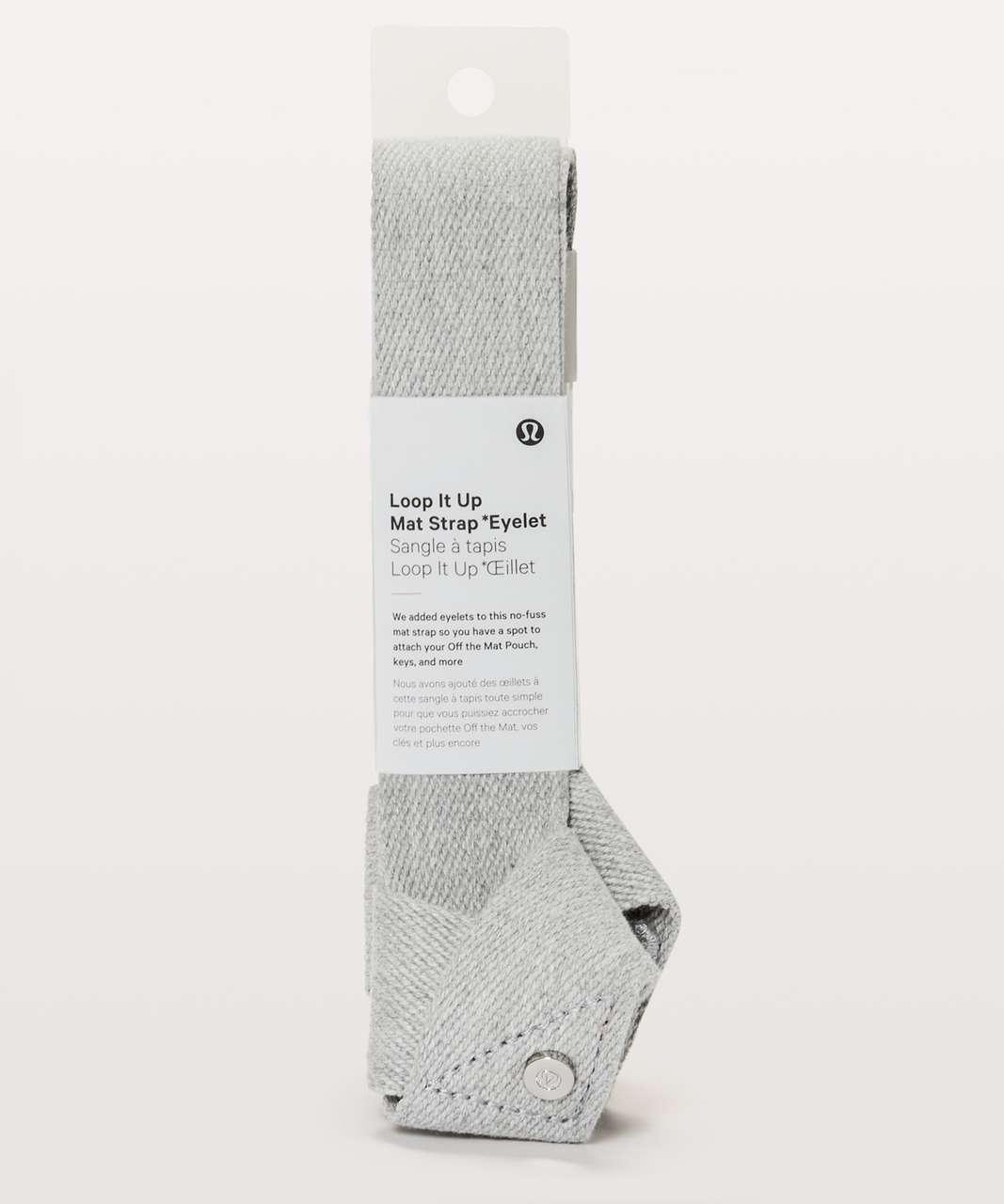 Lululemon Loop It Up Mat Strap *Eyelet - Heathered Core Light Grey