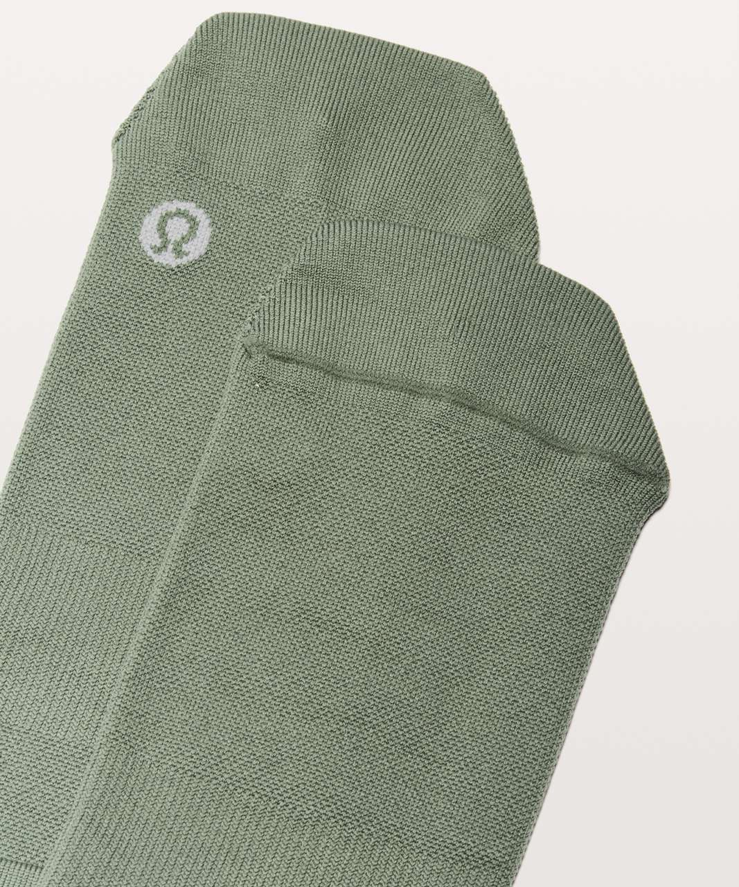 Lululemon Surge Sock *Silver - Green Twill / Light Cast