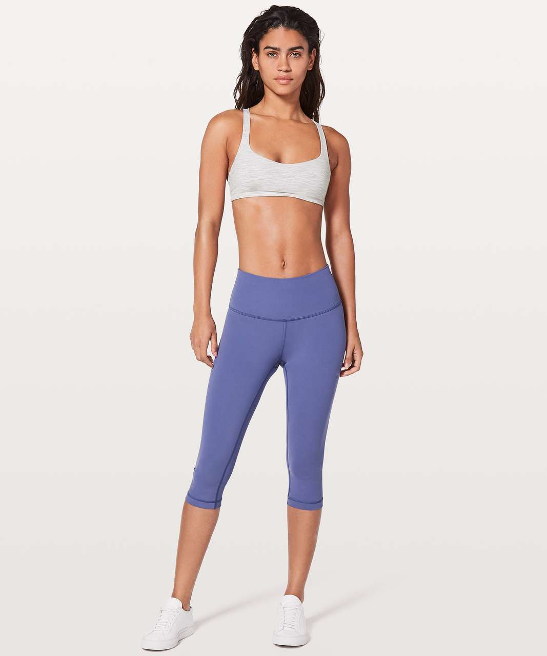 Lululemon Free To Be Bra - Wee Are From Space Nimbus Battleship / Brilliant Blue