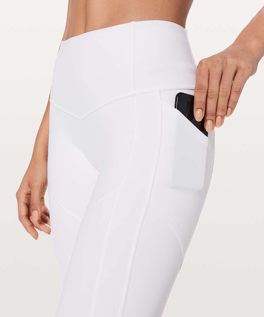 "Lululemon All The Right Places Pant II *28"" - White"
