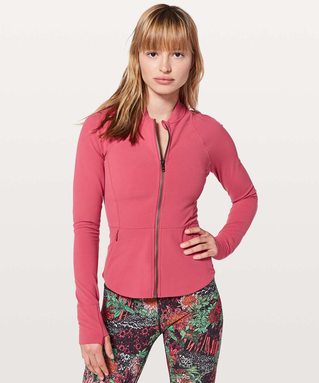Lululemon The Ease Jacket - Vintage Rose