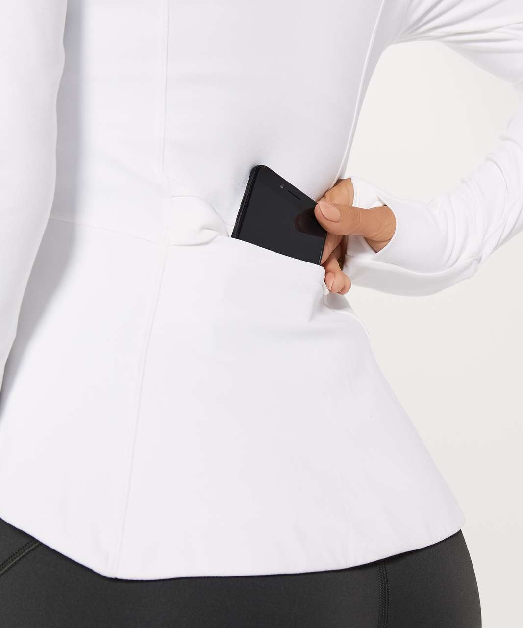 Lululemon The Ease Jacket - White