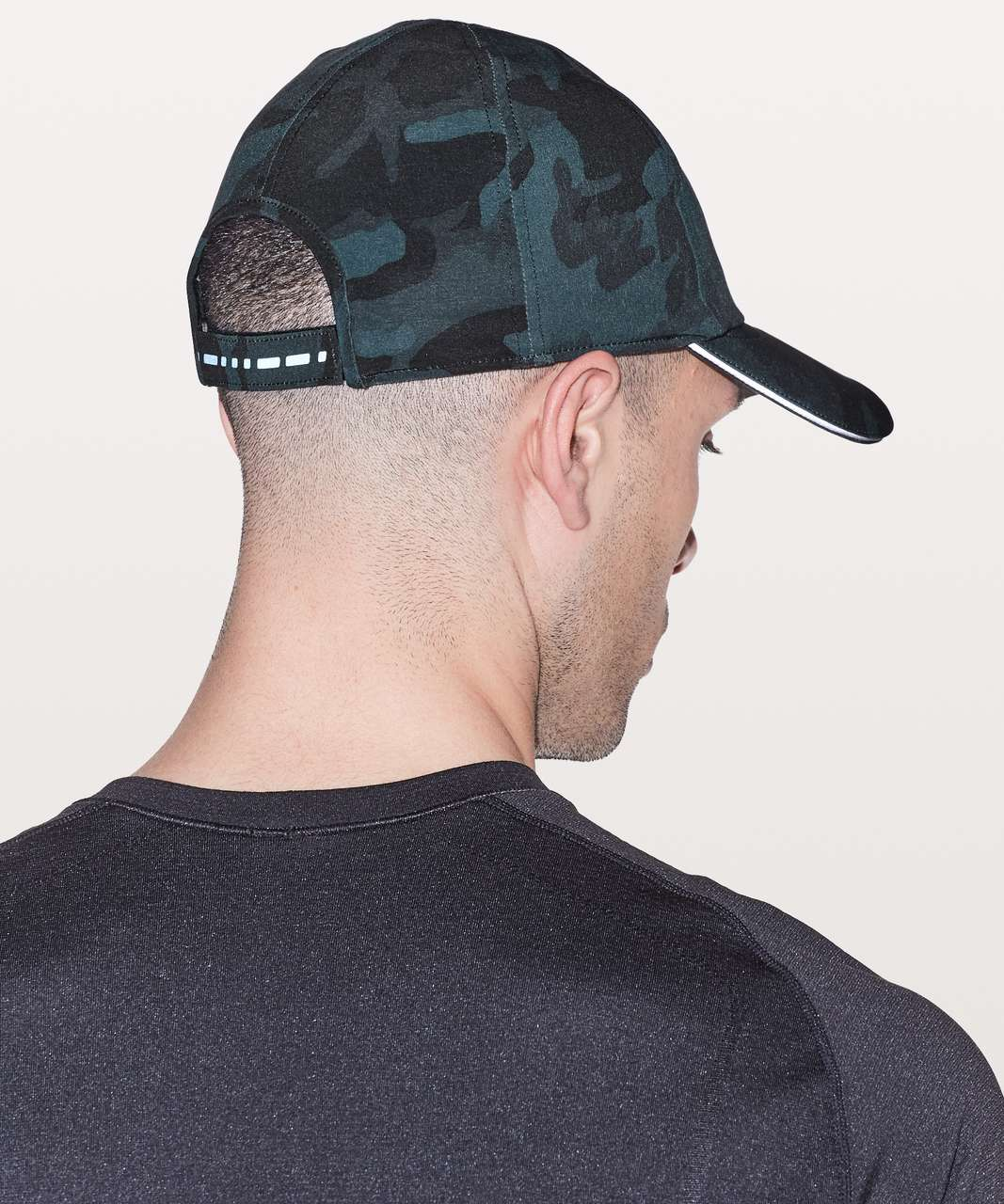 Lululemon Lightspeed Run Hat - Woodland Camo Multi Blue