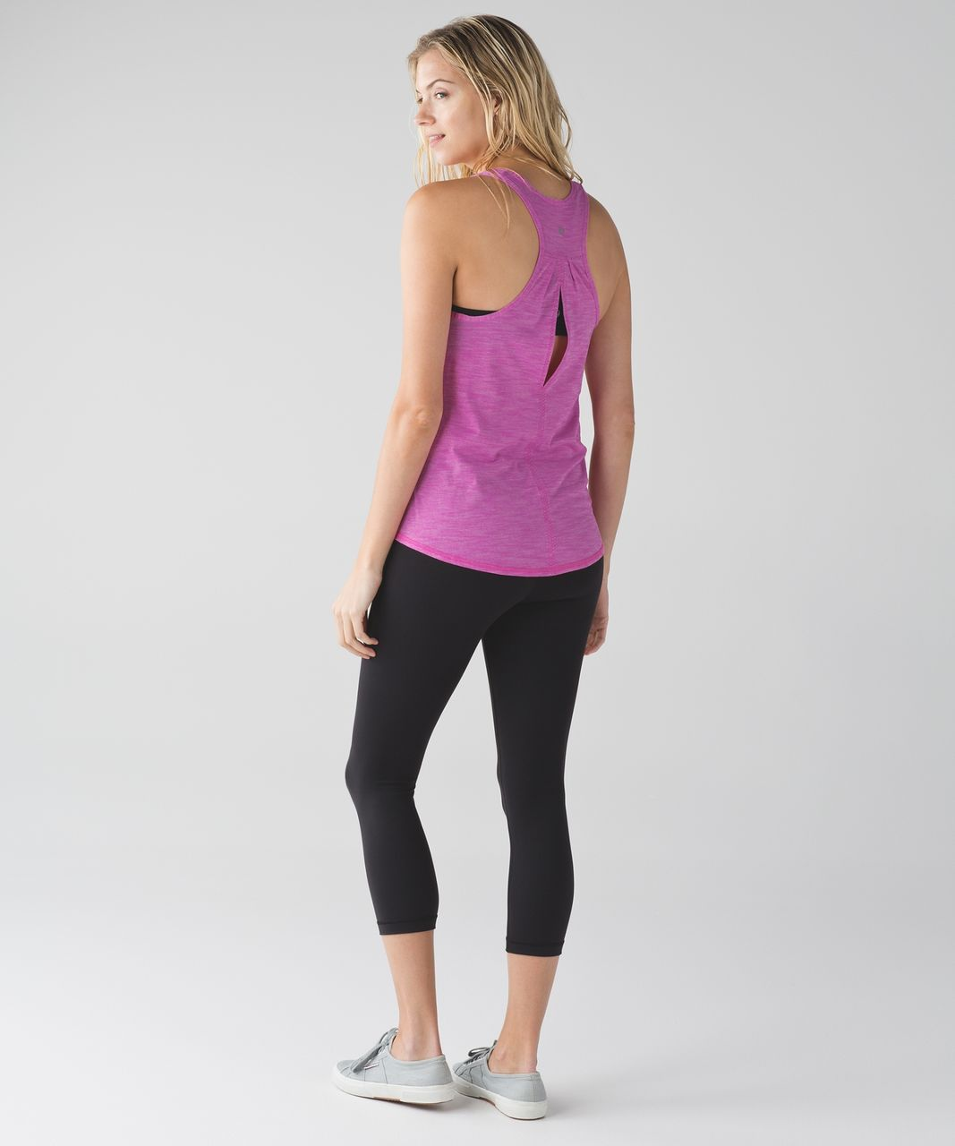 Lululemon Salute the Sun Singlet II - Heathered Pink Paradise