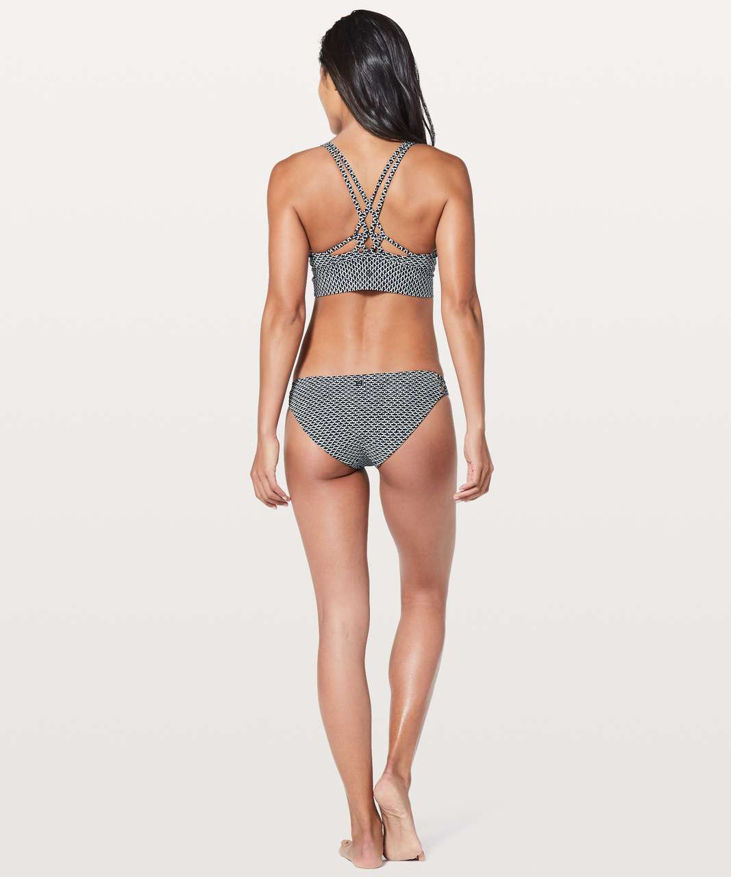 c239b75a1 Lululemon Coastline Top - Monochromic Black Emboss - lulu fanatics