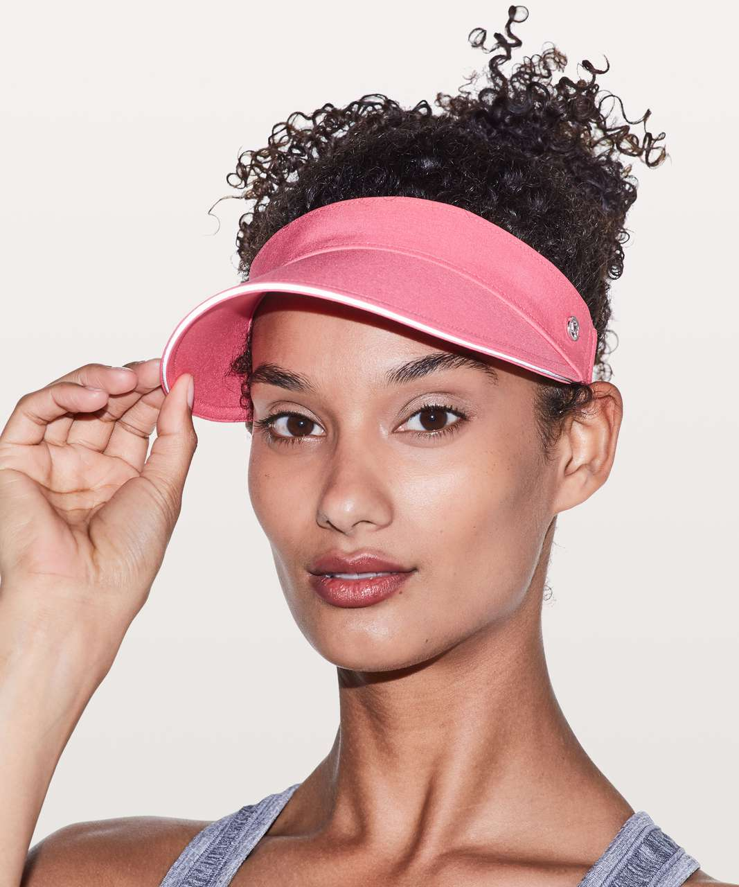 Lululemon Fast Paced Run Visor - Glossy