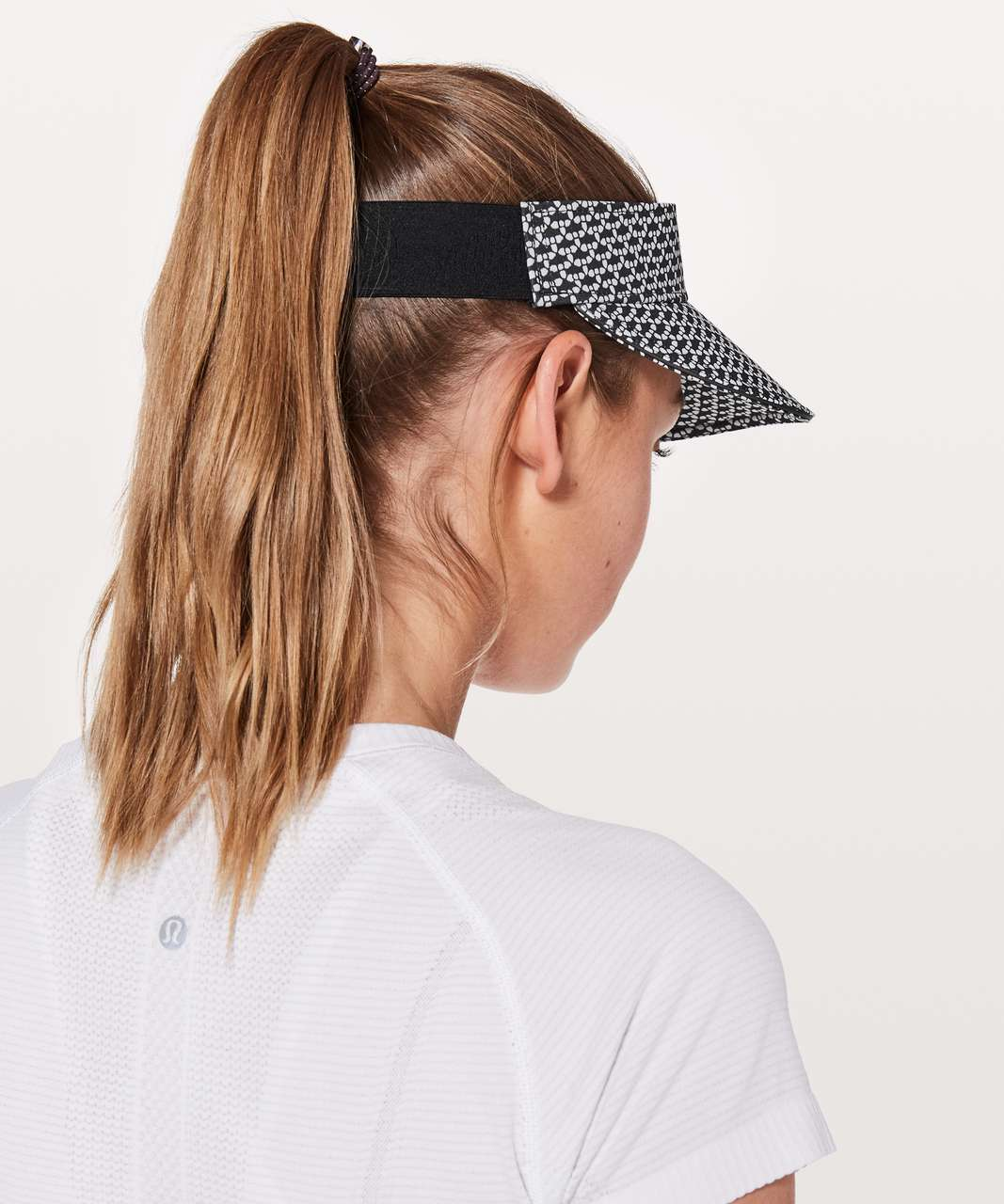 Lululemon Fast Paced Run Visor - Monochromic Black